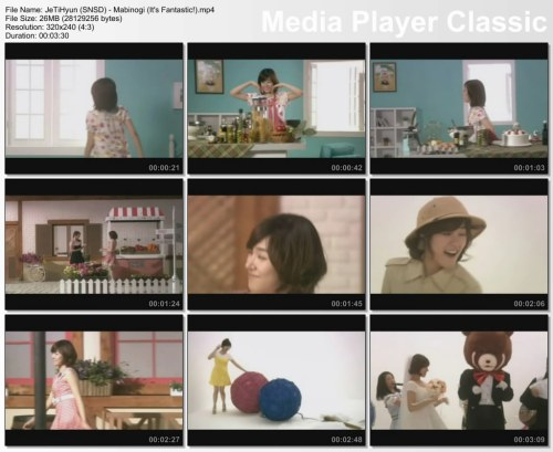 JeTiHyun (SNSD) - Mabinogi (It's Fantastic!)
